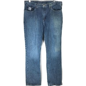 Cinch Jeans Medium Wash Cotton Classic Straight